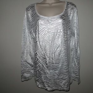 XL SILVER NOBO TOP #455* OFFERS CONSIDERED